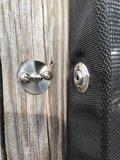 Loxx Tenax 20mm kop + tegenplaat incl plaatschroef 16mm compleet_
