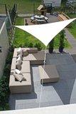 Schaduwdoek 500x500x710cm Triangle waterafstotend_