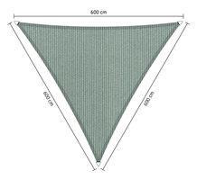 Schaduwdoek 600X600 Zandkleur