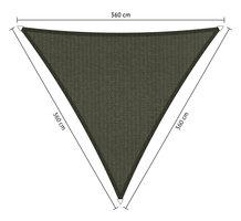 Schaduwdoek 360x360x360cm Triangle Antraciet