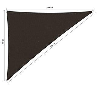 Schaduwdoek 400x500x640cm Triangle waterafstotend
