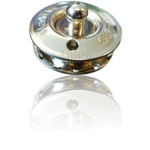 LOXX tenax knop voor doek of zeil + tegenplaat