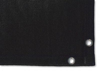 Windbreekgaas zwart 180gram 350cm x 500cm