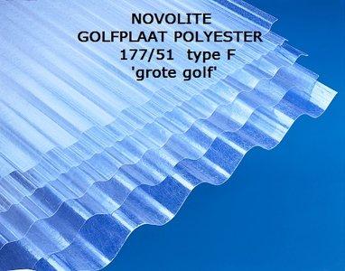 Novolite golfplaat polyester